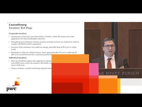 Watch the Private Wealth Forum: Luxembourg