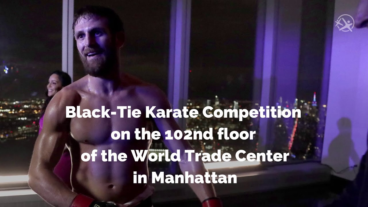 Black-Tie Karate Competition on 102nd floor World Trade Center