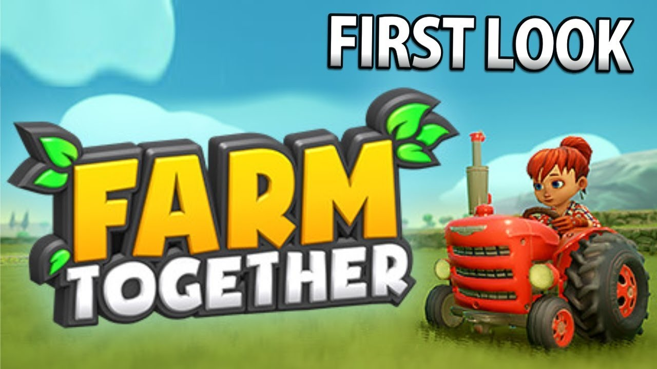 New Co Op Multiplayer Farming Game Farm Together First Look Youtube