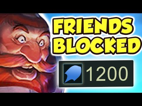"I BLOCKED MY ""FRIENDS"" AFTER THIS!! PENTAKILL 