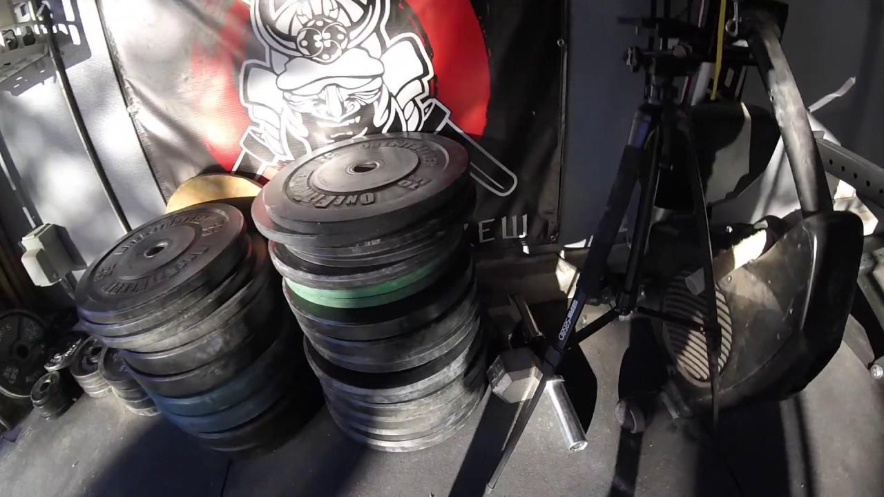 Garage gym tour youtube