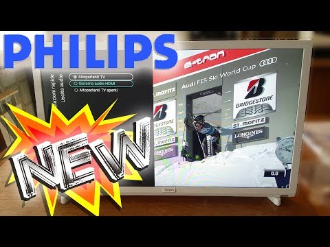 """❗️❓️NEW PHILIPS 24PFS5603_12 - unboxing - must buy - 5600 serie - TV LED Full HD 24"""" - ultra slim"""