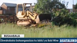 Obwakabaka butaangaazizza ku bbiici ya Bobi Wine