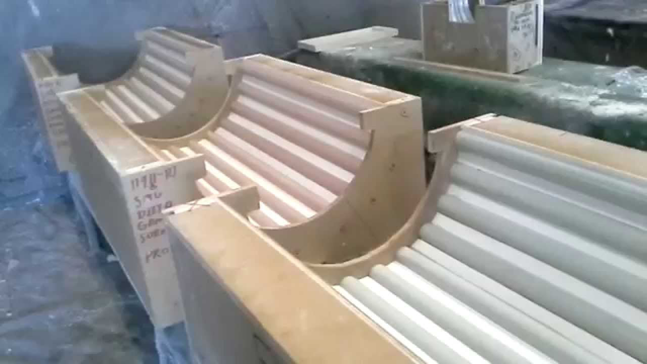 Smu Fluted Gfrc Columns Part Ii Custom Modular Molds