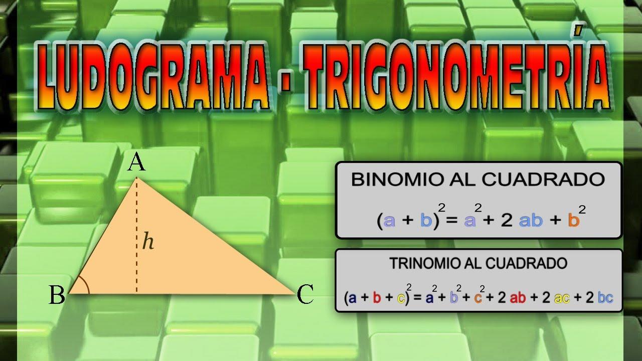 Matematica Facil Ludograma Trigonometria Youtube