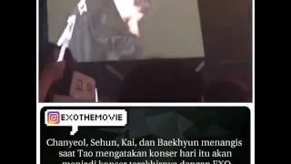 Kesedihan Para MemberExo Pada Acara konser Terakhir TaoExom