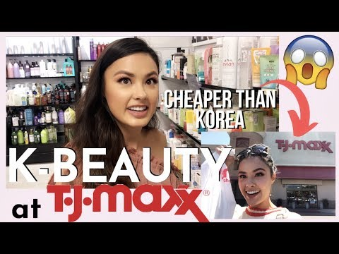 Hunting for K-Beauty Deals at TjMaxx and Marshalls