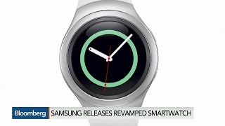 Samsung Releases Revamped Round-Faced Smartwatch
