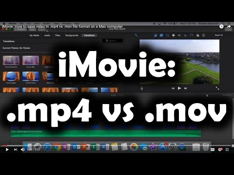 Part 2. iMovie Supported Video Formats for Importing