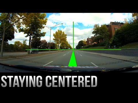 How to Stay Centered in Your Lane - Driving Tips