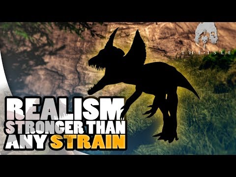 The Isle Realism - BETTER THAN ANY STRAIN OR MAGNA MUTATION, DAKOTARAPTOR UPDATE INFO - Gameplay