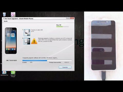 Revivir \ Actualizar Cualquier Alcatel One Touch | Alcatel Brickeado.
