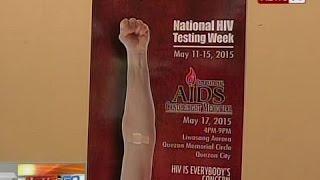 NTG: DOH, nanawagan sa publiko na makibahagi sa Nat'l HIV Testing Week