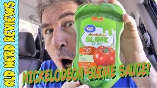 Great Value Nickelodeon Slime Sauce REVIEW 🤓📺