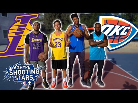 2Hype *NEW RULES* NBA Shooting Stars Basketball Challenge!