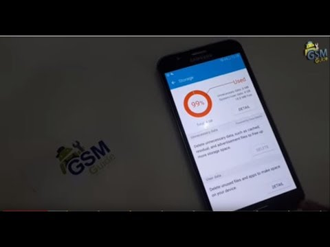 Storage Space running out almost full on Samsung Galaxy 2016 / 2017 How to  Fix Error -Gsm Guide