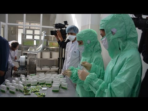В Душанбе открыли предприятие по производству медикаментов