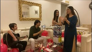 Celebrated Daddy's Birthday | Jannat Zubair Rahmani