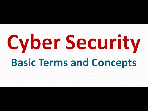 Cyber Security Basic Terms and Concepts