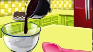 Кухня Сары: Готовим торт-мороженое - игра для девочек