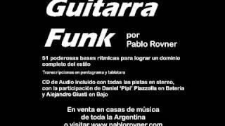 Método de Guitarra Funk por Pablo Rovner - Base #48