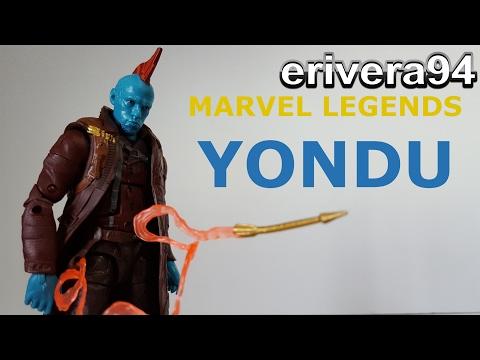 Marvel Legends Yondu Figure Review Guardians of the Galaxy Vol. 2 Titus Build a Figure