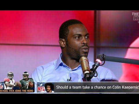 I'm So Disappointed In Michael Vick - Michael Vick Colin Kaepernick. SMDH
