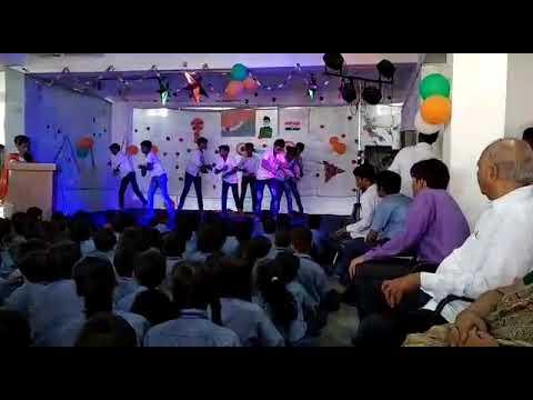 Dance of st pauls academy of std 7😉😉😉