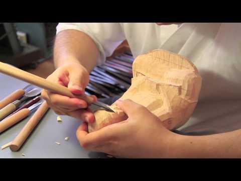 「彫刻刀で楽しむ仏像」シリーズ 釈迦如来