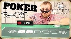 """🔴 PROFI POKER KARTEN UND MATTE VON """"Bullets Playing Cards """" Review Deutsch"""