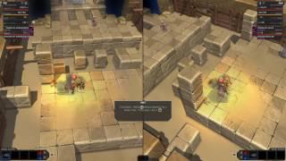 Fight The Dragon [split screen gameplay]
