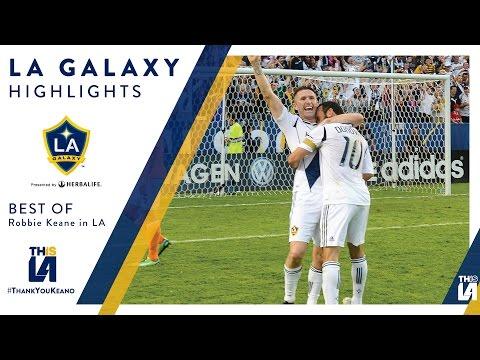 HIGHLIGHTS: The Best of Robbie Keane's LA Galaxy Career | #ThankYouKeano