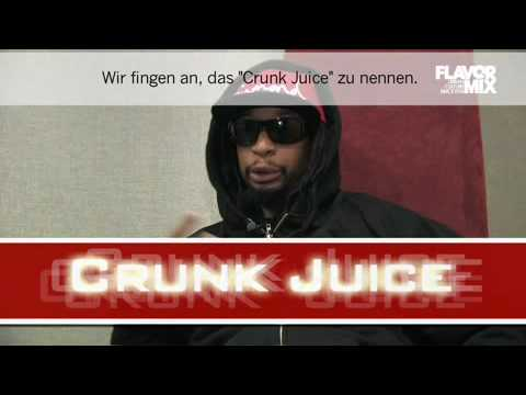 Lil Jon drinks Crunk Juice