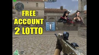 Free Crossfire Account 1 Bar Silver Ecoin Chat Mocha 2 Lotto MSBS 5.56