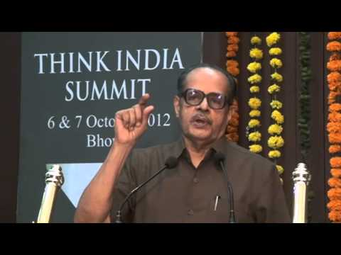 Prof N R Madhav Menon on Vision for Legal Education in India at THINK INDIA SUMMIT (2/2)