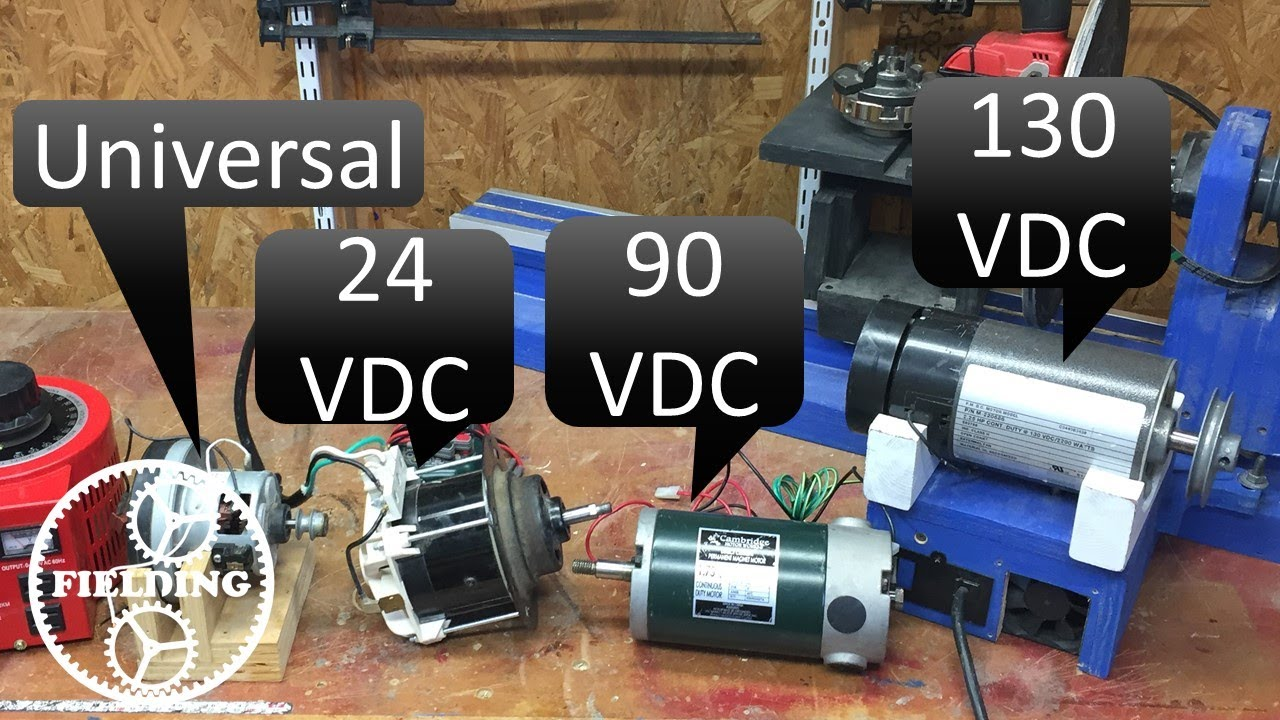 020 How To Wire A Large DC Motor And Control The Speed
