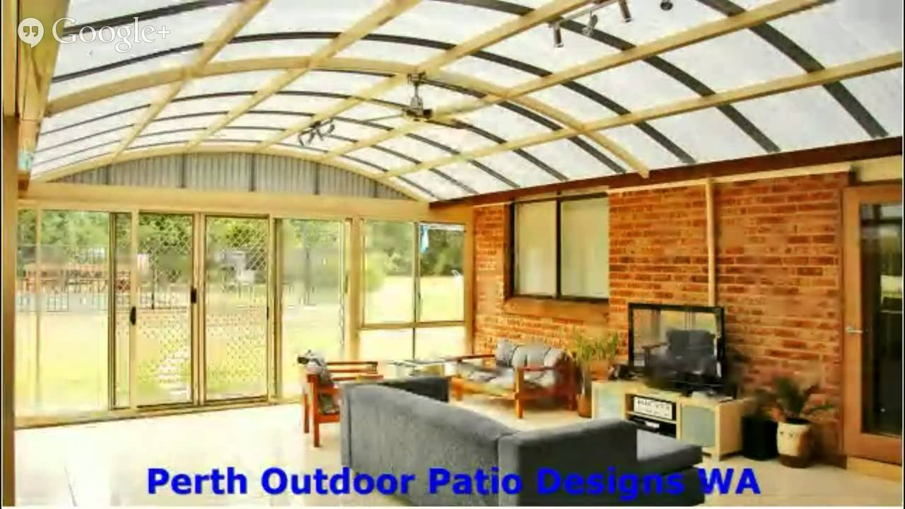 perth outdoor patio roofing ideas