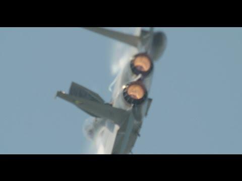 浜松基地航空� - F-15EJ 機動飛行