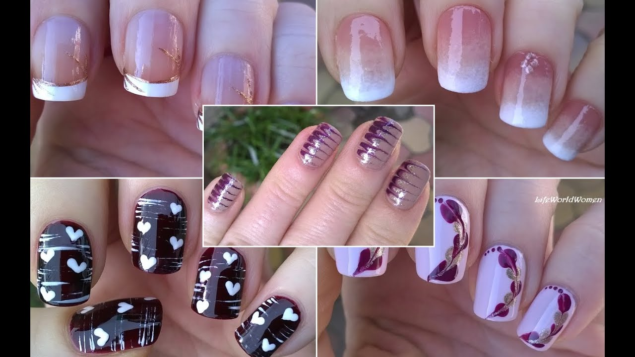 Nail art compilation 1 lifeworldwomen youtube sciox Image collections