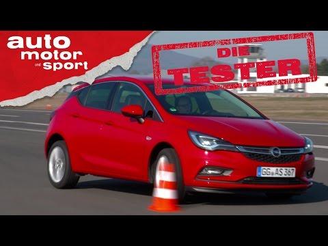 Opel Astra: Der bessere Golf? - Die Tester...