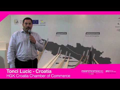 Marmomacc 2012: Tonci Lucic interview, HGK Croatia Chamber of Commerce