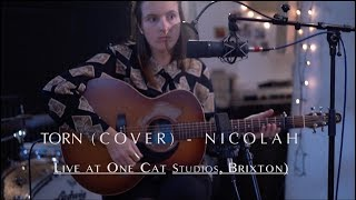 NICOLAH - Torn (cover) -   Live Acoustic Video