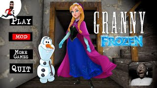 Granny is Anna (frozen) ► Granny Princess mod ► Speedrun and Car Escape