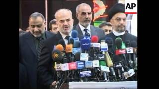 Shiite lawmakers name PM al-Jaafari to head next Iraqi gov, reax