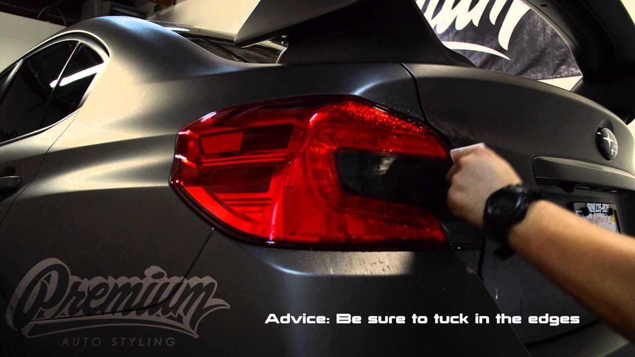 How To Install Vinyl Overlays | 2015 Subaru WRX STI by ...