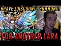 BRAVE SUMMONS! 100% Light Units Rate Up? Shut Up and TAKE MY GEMS! For Another Lara!