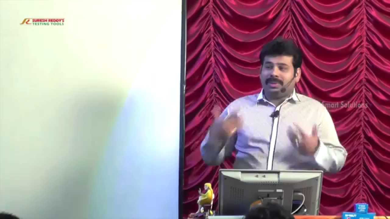 Software Testing Tools Video Tutorials Softwate Testing By Suresh Reddy Youtube