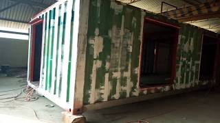 Shipping Container | 720 Sq Ft  Hall | Project Of Fatimiyah Hospital|