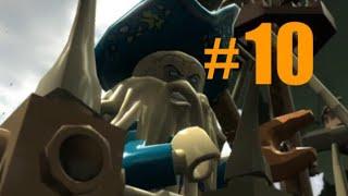 LEGO Pirates of the Caribbean #10 The Kraken! (walkthrough) Xbox one (Dead man