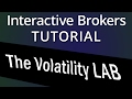 The Volatility Lab in Interactive Brokers